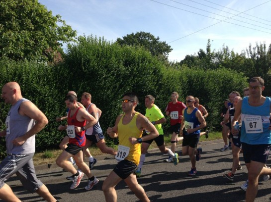 Looking steady at the Wythall Hollywood 10k
