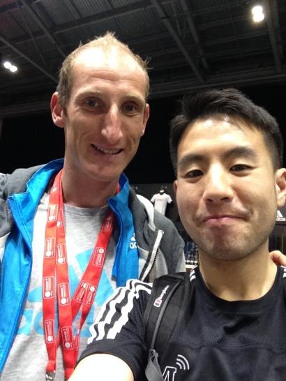 Scott Overall at the London Marathon